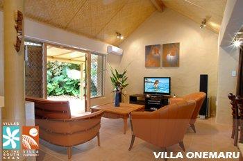Manuia Beach Resort-Villa Onemaru Living Room<br/>Image from Leonardo