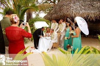 Manuia Beach Resort-Wedding Ceremony<br/>Image from Leonardo