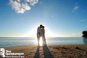 Manuia Beach Resort-Wedding at Sunset<br/>Image from Leonardo
