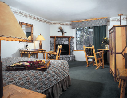 Holiday Inn Resort The Lodge at Big Bear Lake-King Room with fireplace<br/>Image from Leonardo