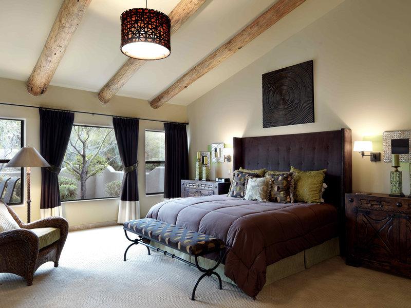 Boulders Resort & Spa, Curio Collection by Hilton-Pueblo Villa Master Bedroom - Shelby - 01/08<br/>Image from Leonardo