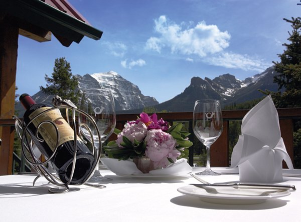 POST HOTEL-Dinning on Patio<br/>Image from Leonardo
