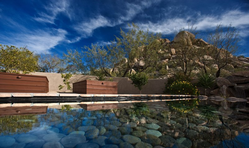 Boulders Resort & Spa, Curio Collection by Hilton-Golden Door Reflection Pool - Shelby - 01/08<br/>Image from Leonardo