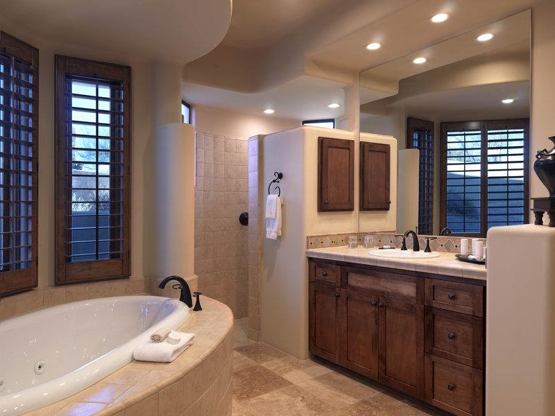Boulders Resort & Spa, Curio Collection by Hilton-Hacienda Bathroom - Shelby - 01/08<br/>Image from Leonardo