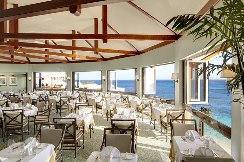 The Reefs-180 degree ocean views in Ocean Echo restaurant<br/>Image from Leonardo