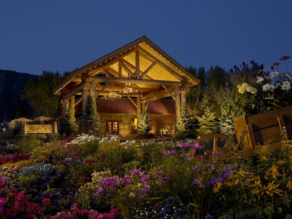 The Wort Hotel-The Rustic Inn at Jackson Hole, WY<br/>Image from Leonardo