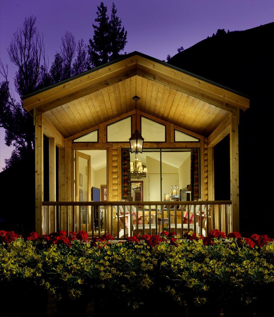 The Wort Hotel-Creekside Cabin Exterior<br/>Image from Leonardo