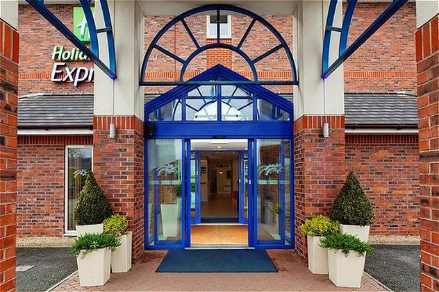 Holiday Inn Express Lichfield-Entrance<br/>Image from Leonardo