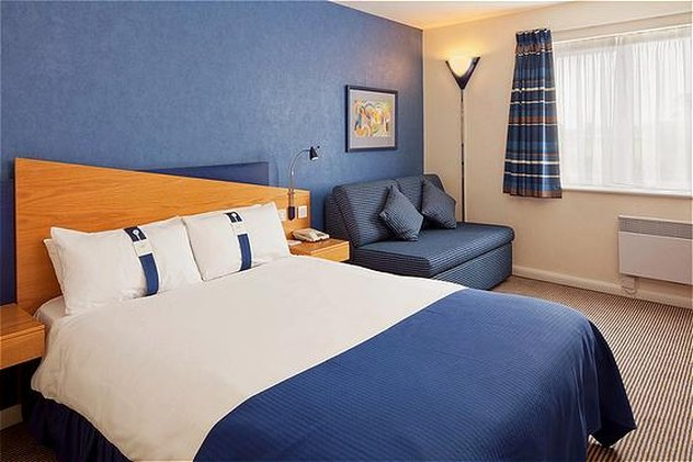 Holiday Inn Express Lichfield-Double Bed Guest Room<br/>Image from Leonardo