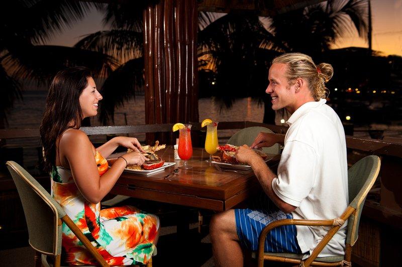 Bolongo Bay Beach Resort-Lobster Grille Dining<br/>Image from Leonardo