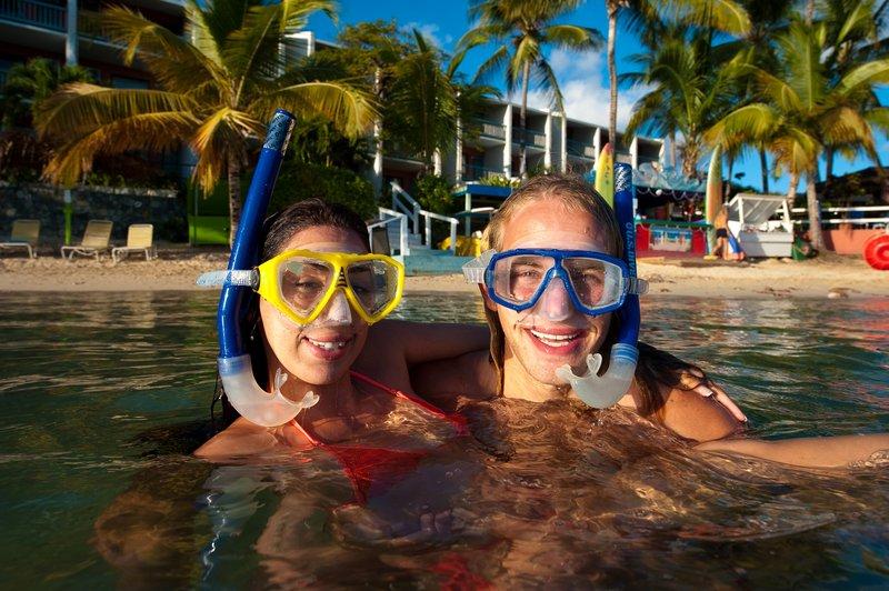Bolongo Bay Beach Resort-Snorkelers<br/>Image from Leonardo
