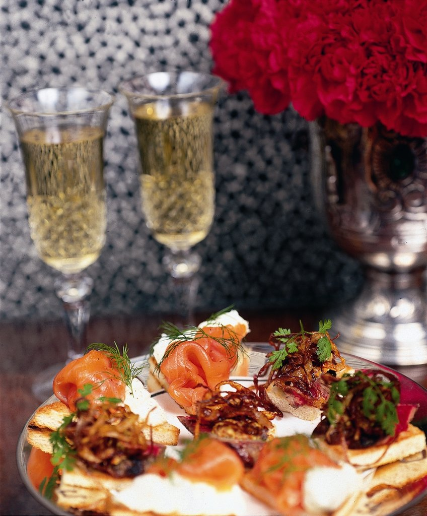 41 Hotel-Evening Canapes In The Lounge<br/>Image from Leonardo
