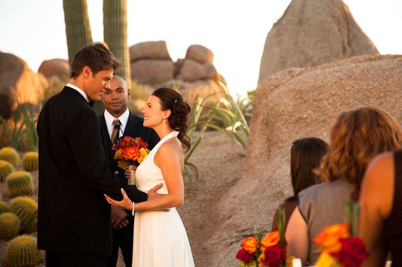 Boulders Resort & Spa, Curio Collection by Hilton-Wedding Ceremony Promise Rock. Sams 07/10<br/>Image from Leonardo