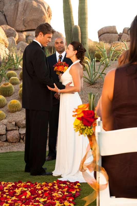 Boulders Resort & Spa, Curio Collection by Hilton-Wedding Ceremony at Promise Rock - Sams - 07/10<br/>Image from Leonardo