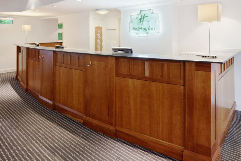 Holiday Inn Basildon-Front Desk  at reception and lobby area<br/>Image from Leonardo
