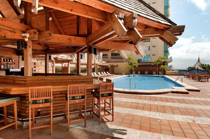 Homewood Suites by Hilton Santo Domingo-Akwa Pool Bar<br/>Image from Leonardo