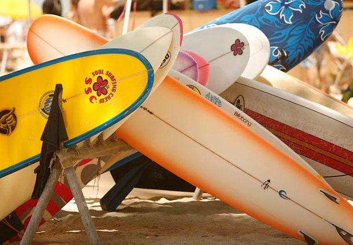 Waikiki Beach Marriott Resort  - Surfing <br/>Image from Leonardo
