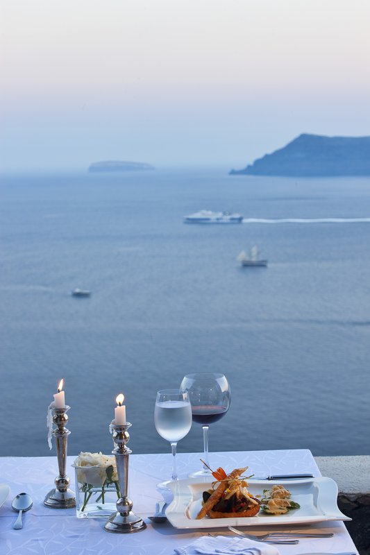 Canaves Oia Hotel-Dining at Canaves Oia Hotel<br/>Image from Leonardo