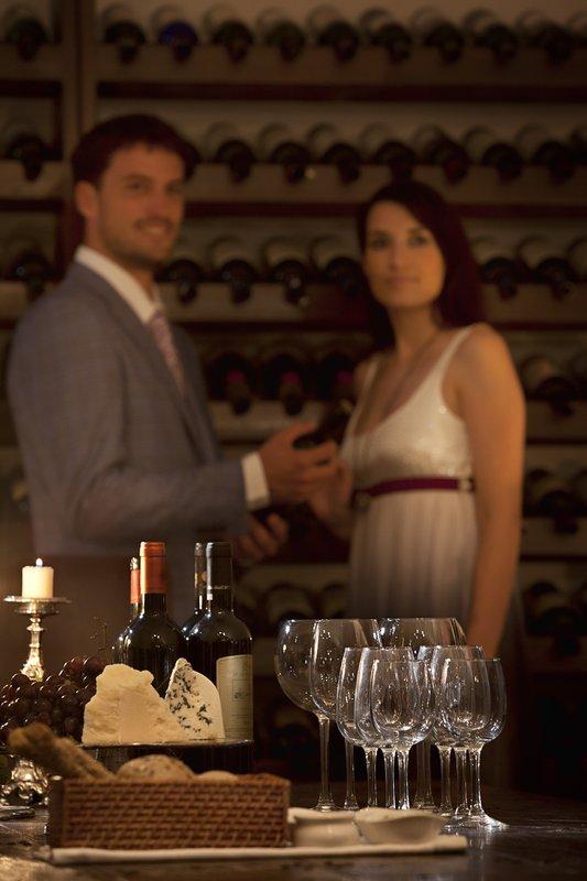Canaves Oia Hotel-Wine Cellar<br/>Image from Leonardo