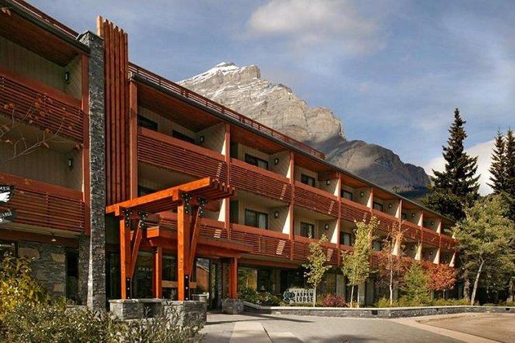 Banff Aspen Lodge-Summer Exterior<br/>Image from Leonardo