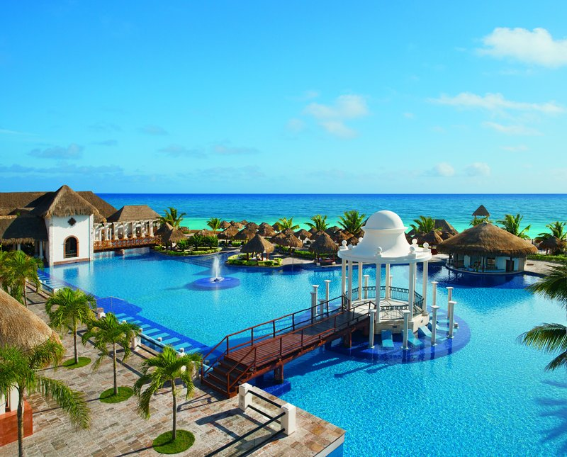 Now Sapphire Riviera Cancun - Main Pool Aerial <br/>Image from Leonardo