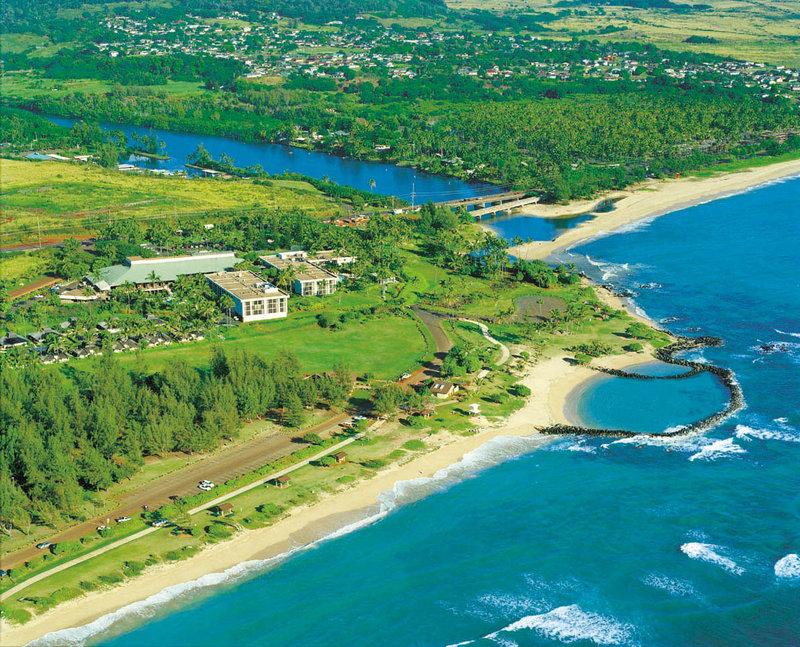 Hilton Garden Inn Kauai Wailua Bay Wailua Bay-Aerial View<br/>Image from Leonardo