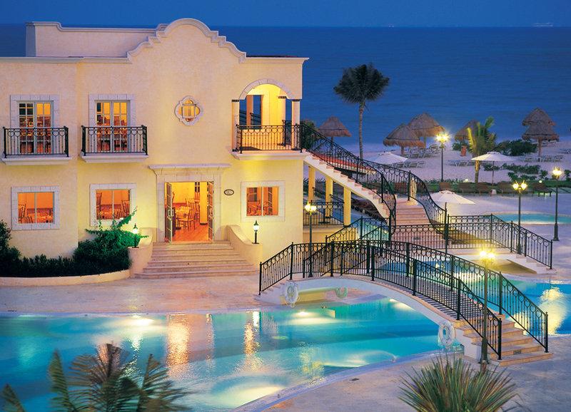 Secrets Capri Riviera Cancun - Evening View <br/>Image from Leonardo