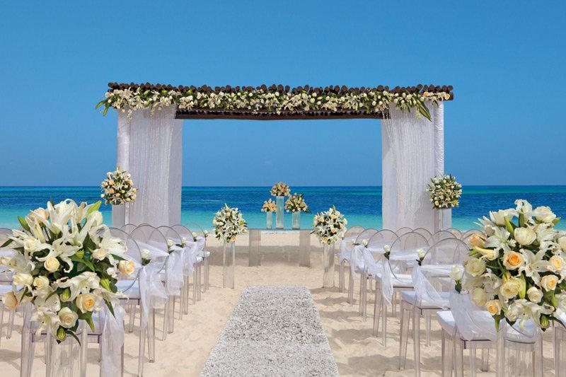 Secrets Capri Riviera Cancun - Wedding Set Up <br/>Image from Leonardo
