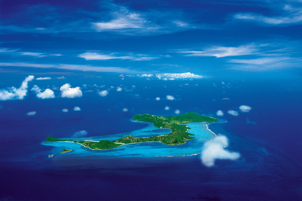 Young  Island  Resort-Canouan Aerial Shot <br/>Image from Leonardo