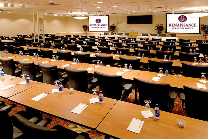 Crowne Plaza Syracuse-Meeting Space<br/>Image from Leonardo