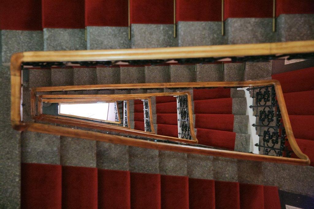Mamaison Hotel Riverside - Stairs <br/>Image from Leonardo