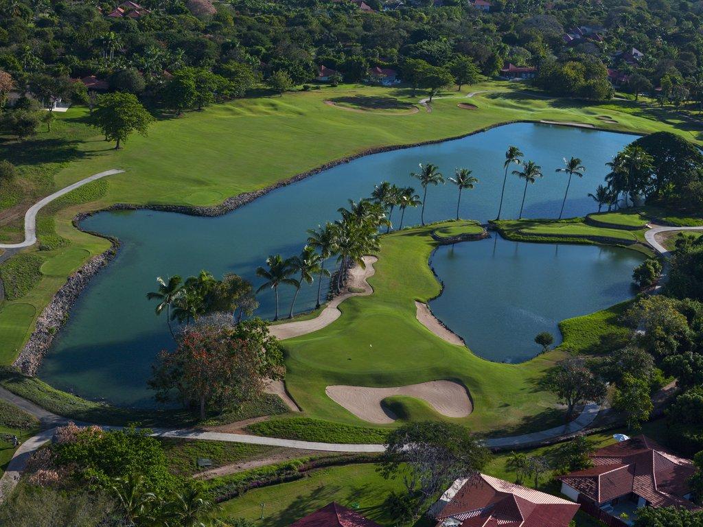 Casa De Campo - Links Course Aerial <br/>Image from Leonardo