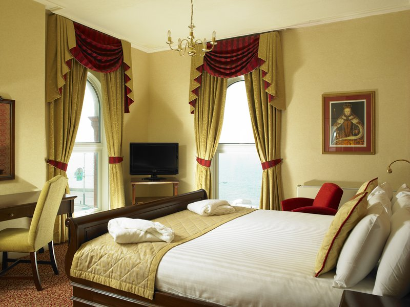 Imperial Hotel Blackpool-The Imperial Hotel Royal Suite Bedroom<br/>Image from Leonardo