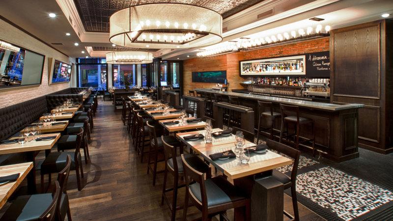 Hotel Manoir Victoria-Restaurant<br/>Image from Leonardo