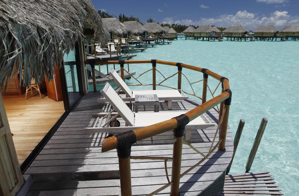Bora Bora Pearl Beach Resort-Overwater Bungalow Exterior<br/>Image from Leonardo