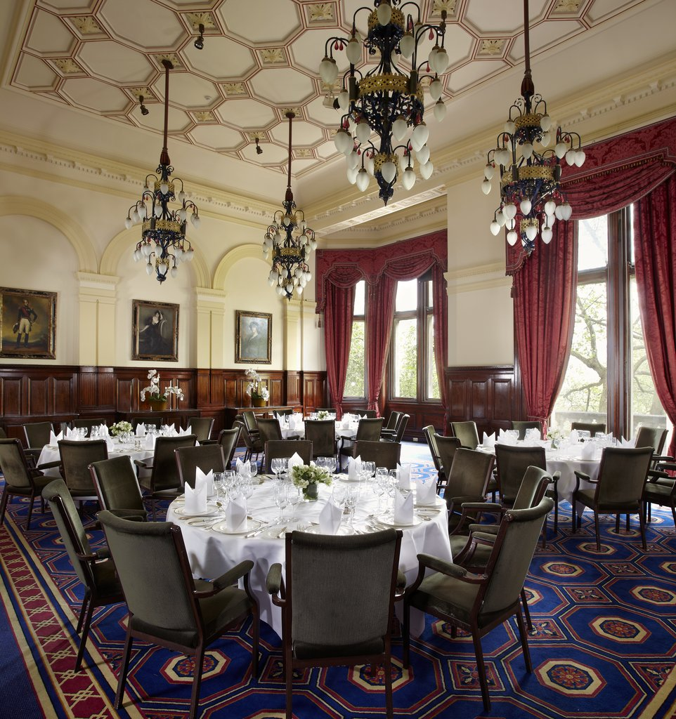 The Royal Horseguards - Whitehall Suite One Whitehall Place Lunch <br/>Image from Leonardo
