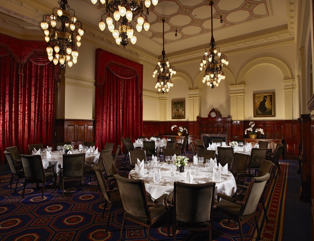 The Royal Horseguards - Whitehall Suite One Whitehall Place Dinner <br/>Image from Leonardo