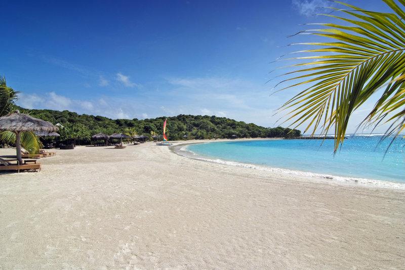 Young  Island  Resort-Canouan Estate Shell Beach<br/>Image from Leonardo