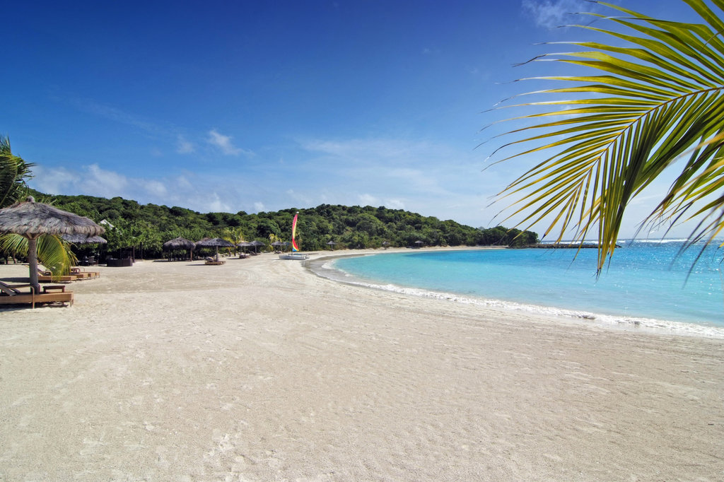 Young  Island  Resort-Shell Beach<br/>Image from Leonardo