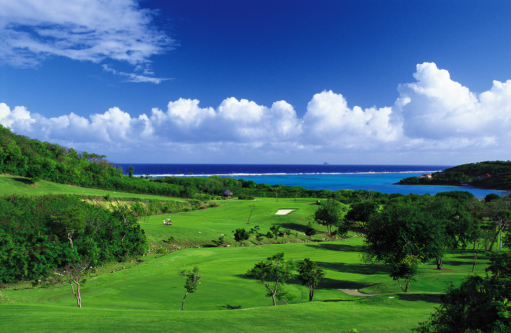 Young  Island  Resort-Golf <br/>Image from Leonardo