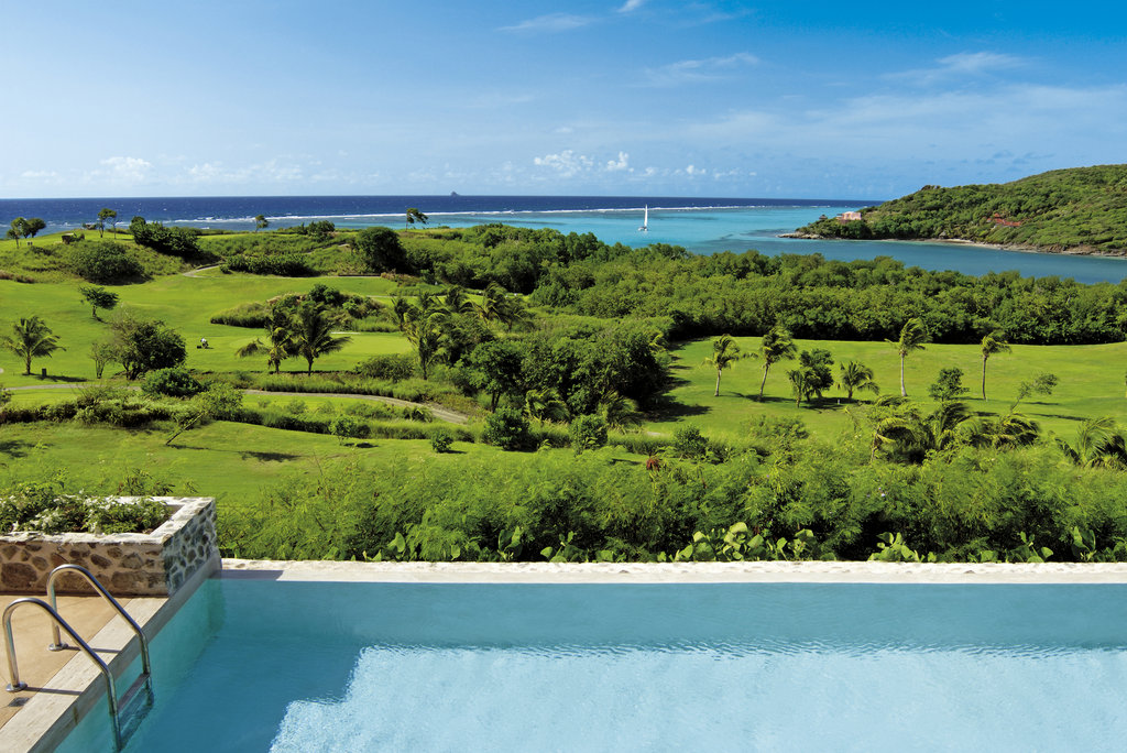 Young  Island  Resort-Golf Course view from Four Bedroom Villa<br/>Image from Leonardo