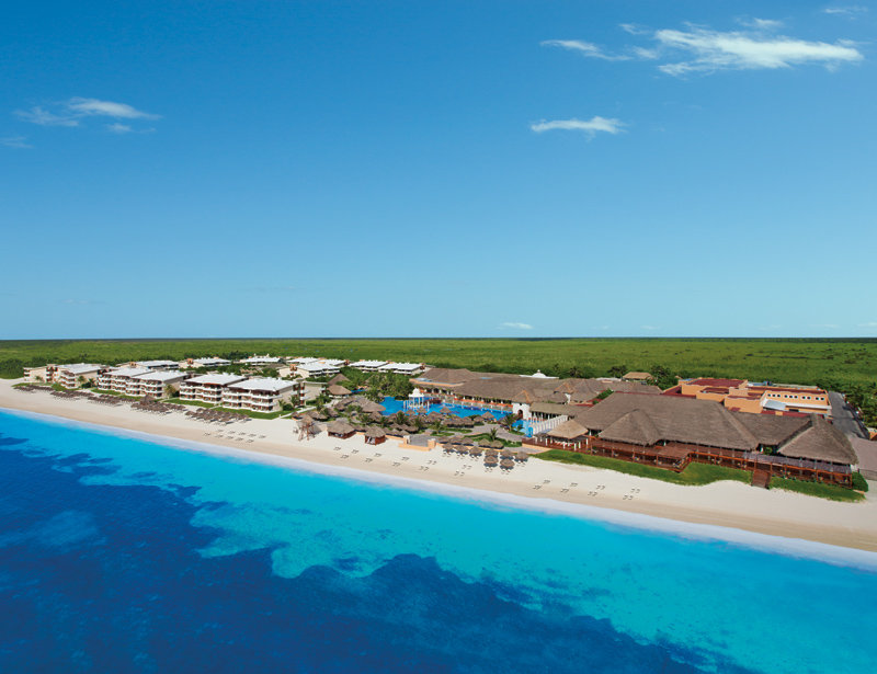 Now Sapphire Riviera Cancun - Aerial Beach View <br/>Image from Leonardo