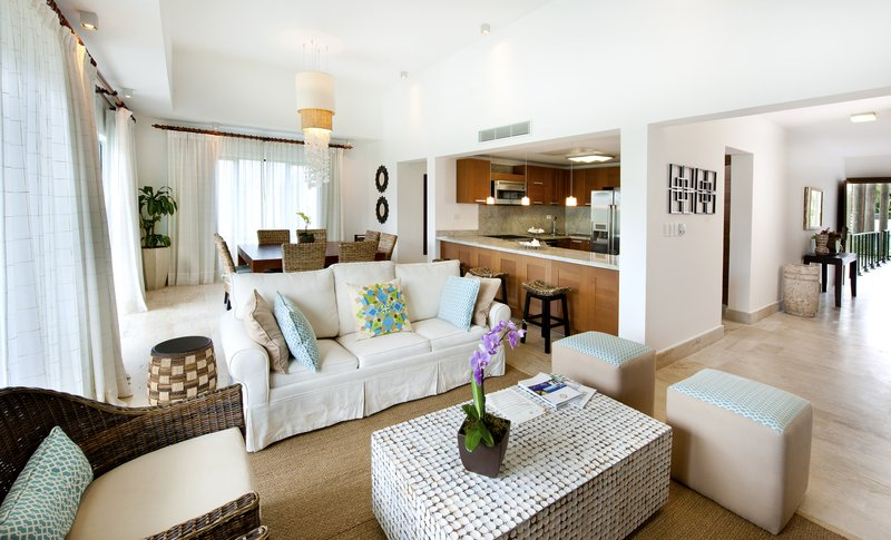 Sublime Samana Hotel & Residences-Three Bedroom Casita Living Room<br/>Image from Leonardo