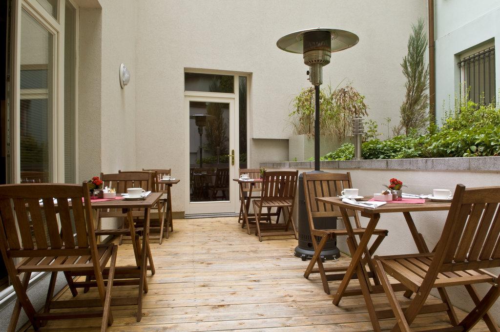 Mamaison Hotel Riverside - Summer Terrace <br/>Image from Leonardo