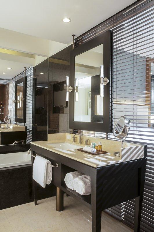 Live Aqua Urban Resort Mexico-Deluxe Room Bathroom<br/>Image from Leonardo
