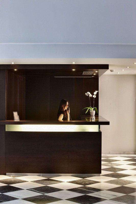 Acropolis Hill Hotel-Lobby / Reception<br/>Image from Leonardo