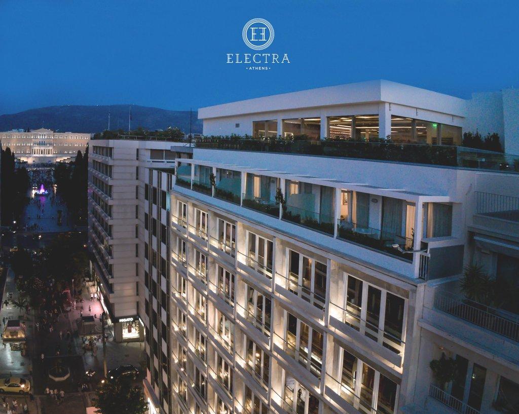 Electra Hotel - Exterior view <br/>Image from Leonardo