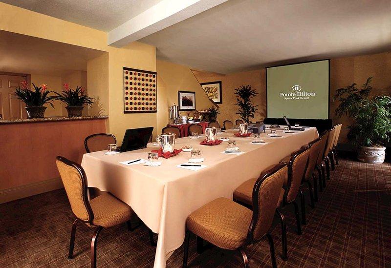 Pointe Hilton Squaw Peak Resort - Boardroom Set-Up <br/>Image from Leonardo