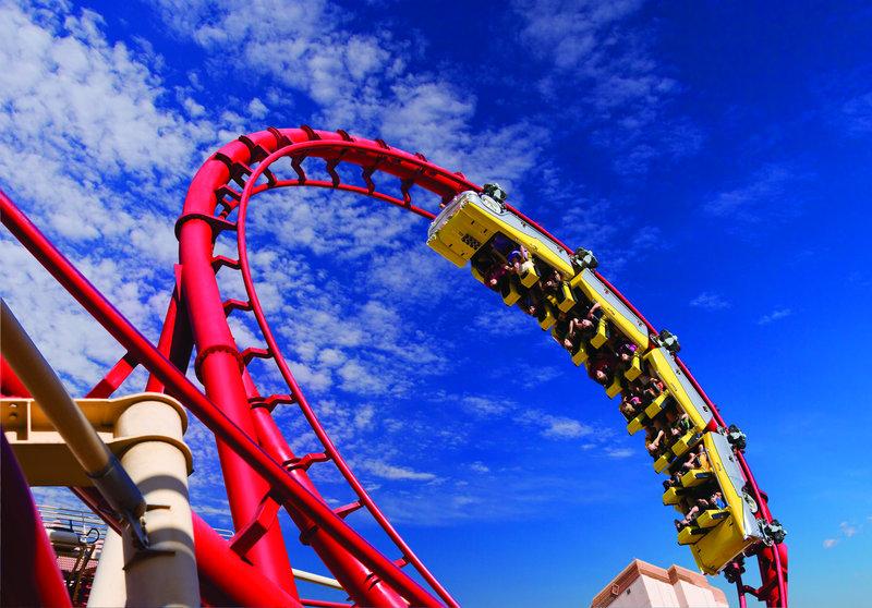 New York-New York Hotel - Roller Coaster <br/>Image from Leonardo