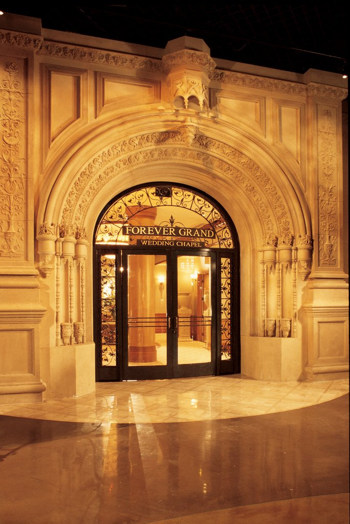 MGM Grand Hotel & Casino - Forever Grand Wedding Chapel <br/>Image from Leonardo